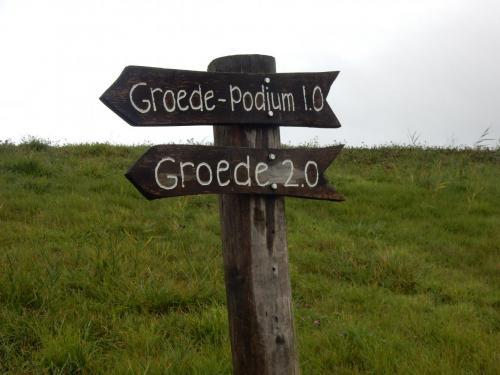 foto's van onze wandeluitstap naar Groede in Zeeland Nederland