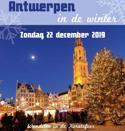 Busreis naar Antwerpen op zondag 22 december 2019