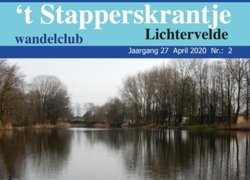 Ons Stapperskrantje april 2020