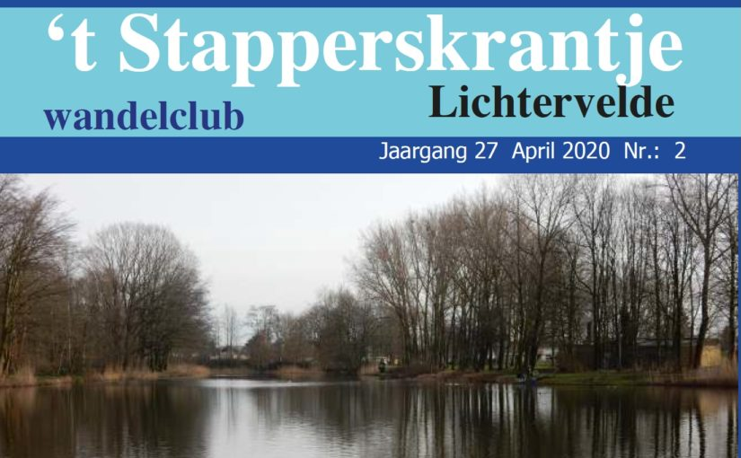 't Stapperskrantje april 2020