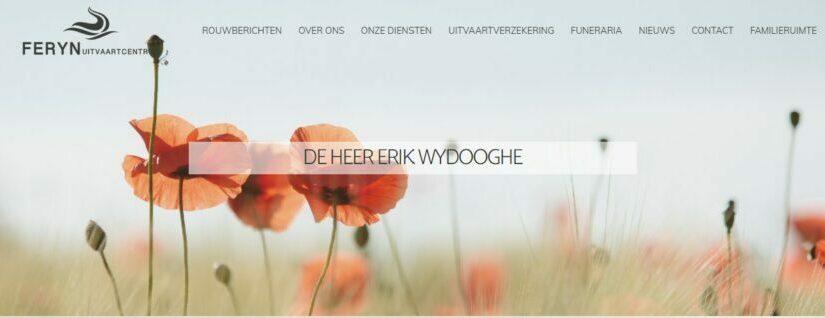 Uitvaartdienst Erik Wydooghe online meevolgen.