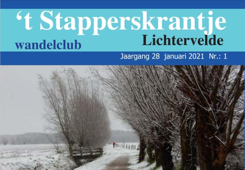 't Stapperskrantje januari 2021
