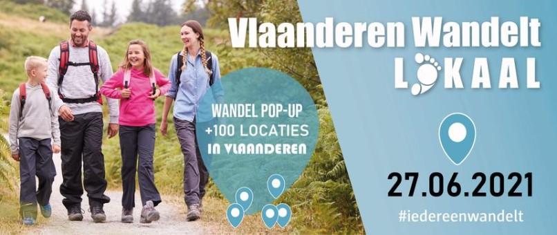 Vlaanderen Wandelt Lokaal – datum verplaatst