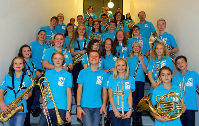 """Concert jeugdensemble """"Ferventis"""" tijdens """"Vlaanderen Wandelt Lokaal"""" op zondag 27 juni 2021"""