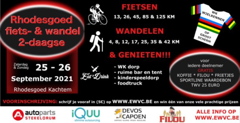 Rhodesgoed fiets & wandel 2-daagse